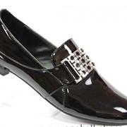 Туфли из искусственной кожи фото