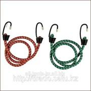 Шнур Stayer резиновый крепежный, со стальными крюками, 80смх2шт Код:40505-080 фото
