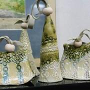 Фигуры из керамики разные фото