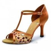 Обувь женская для танцев латина Ителия фото