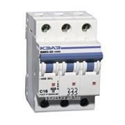 Автоматический выключатель УЗО BM63-3XС 25А