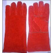 Перчатки трек красный фото