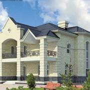 Строительство домов из кирпича и пеноблоков фото