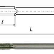 Метчик гаечный (метрическая резьба) фото