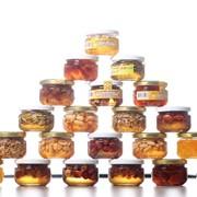 Десерт медовий з арахісом ЗлатоМед 155г фото