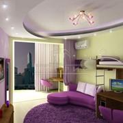3-D визуализации дизайна интерьеров помещений фото