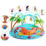 Большой развивающий коврик Tiny Love «Тропический остров»