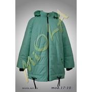 Свободная весенняя куртка, модель 17-10 фото