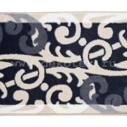 Коврик Baroque из 1-шт 57x100см (серый) 1/30 фото