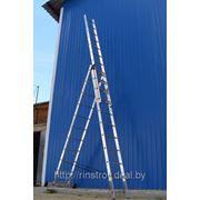 Лестницы трёхсекционные универсальные 5308, h=224/363/504 фото