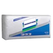 Настольные салфетки Extra Marathon (24х24) белые фото