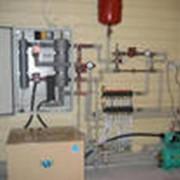 Обслуживание систем центрального отопления фото