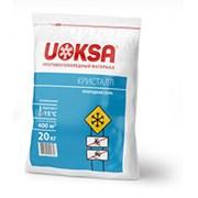 Противогололедные реагенты uoksa Кристал -15С фото