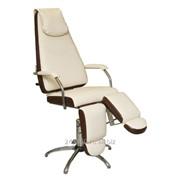 Педикюрное кресло Милана пневматическое с опорами под ноги фото