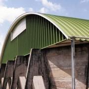 Ангар крыша фото