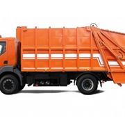 Автомобиль-мусоровоз КрАЗ К12.R с кабиной Renault фото
