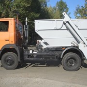 Вывоз промышленно-строительных отходов бункеровозами фото