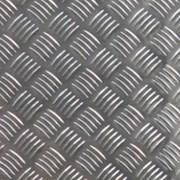 Алюминий листовой рифленый 1,5мм(+1мм рифление). фото
