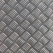 Алюминий листовой рифленый 4мм(+1мм рифление)Резка фото