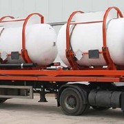 Емкости для транспортировки и временного хранения растворов кислот ТРК 3х4. фото