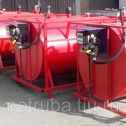 Емкость для хранения дизельного топлива V= 95 м3 фото