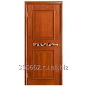 Межкомнатная дверь Ника, (красное дерево) фото