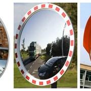 Сферические зеркала для выезда фото