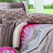 Ткань постельная Твил-сатин 120 гр/м2 235 см Набивной цветной HY-005A H/S008 TDT фото