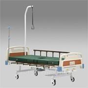 Кровать функциональная механическая Armed с принадлежностями RS 104-Е (с санитарным приспособлением ) фото