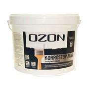 Краска-грунт 0,9 л OZON Korrostop база А по металлу полуматовая ВДАК 155 фото