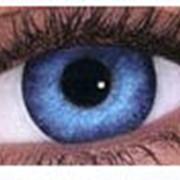 Косметические цветные линзы Freshlook Dimensions с диоптриями. фото
