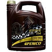 Минеральное моторное масло PEMCO iDRIVE 114 15W-40 (5 л) фото