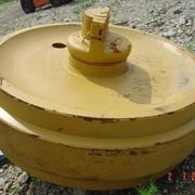 Направляющее колесо (ленивец) на бульдозер Shehwa SD7 фото