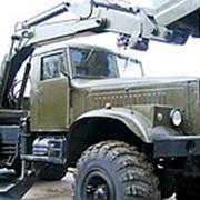 КрАЗ 255. Экскаватор ЭОВ-4421. Новый, с военного хранени фото