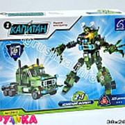 Конструктор пластиковый робот трансформер 21-0745 фото