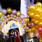 Оформление помещения шарами (свадьба, день рождения, корпоратив) фото