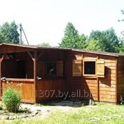 Деревянные неутепленные модульные дачные домики. фото