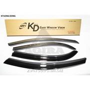 Дефлектор окон черный по 3 компл в упаковке Kyoung Dong, кросс_номер 93742595 фото