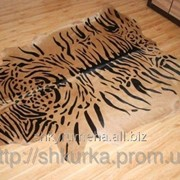 Шкура коровы (стилизованная шкура тигра) T 003 фото