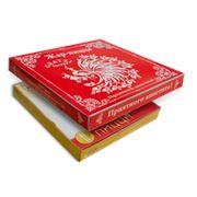Коробка картонная для пиццы фотография