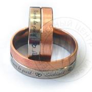 Гравировка колец, ювелирных изделий, подарков к свадьбе фото