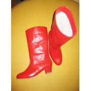 Народно-характерная обувь. фото
