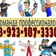 Услуги электрика, услуги сантехника, услуги кафельщика, услуги отделочника фото