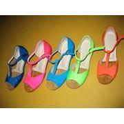 Обувь для бальных танцев. фото
