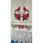 Рушник свадебный Голубки-2 фото