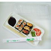 Порционный контейнер для суши фото