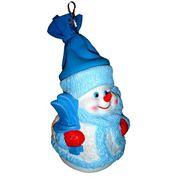 Упаковка поливинилхлоридная новогодняя Снеговик Снежинкин фото