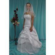 Платье свадебное в бальном стиле фото
