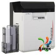 Принтер пластиковых карт Evolis Avansia Duplex Expert ретрансферный двусторонний полноцветный, Ethernet, USB, HID veriCLASS фото