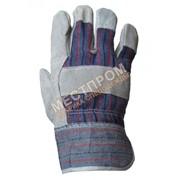 Перчатки комбинированные х/б фото